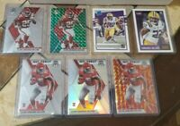 2020 Mosaic Clyde Edwards-Helaire *LOT* (7) NFL Chiefs LSU Rookie Card