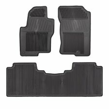 2012-2017 Nissan Frontier All Season Rubber Slush Floor Mats Set GENUINE OEM NEW