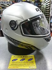 CASCO MODULARE AGV LONGWAY SILVER S MOTORCYCLE HELMET HELM CASQUE