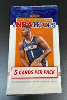 🔥  2019-20 Panini Hoops Basketball Pack - 5 Cards NBA Murant, Zion, Herro?🏀