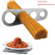 Premium Stainless Steel Spaghetti Measures 4 Sizes Pasta Noodle Useful New Nice