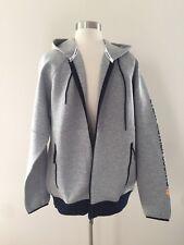 NWT New Balance for J.Crew full-zip hoodie jacket Men's sz Large Grey Navy