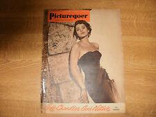 June 1951, PICTUREGOER, Marta Toren, Marilyn Monroe, Alastair Sim, Gene Tierney.