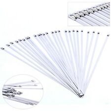 """SE 50 Pack Stainless Steel 304 Self Locking Ball Lock Cable Ties 12"""" X 3/16"""" BD"""