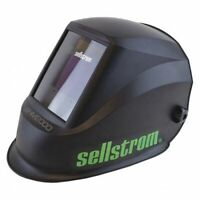Sellstrom S26200 Welding Helmet, Whm 2000 Series, Black