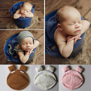 Cute Baby Photo Prop Backdrop Newborn Photography Soft Felt Posing Pillow Basket