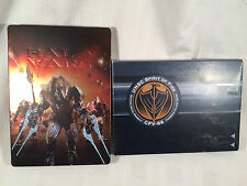 Halo Wars - Limited Edition Steelbook - (Xbox 360, 2009) - Missing Cover & Patch