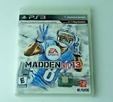 Madden NFL 13 Playstation 3 Ps3 Great Condition Tested