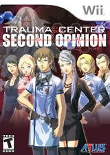 Trauma Center Second Opinion WII New Nintendo Wii