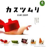 Panda's ana  Garbage Snail Kasutsumuri  Completed Set 5pcs Takara Tomy