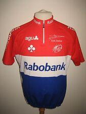 Rabobank DEKKER Holland rare jersey shirt cycling maillot trikot size L