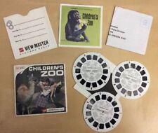 Vintage ViewMaster Children's Zoo San Diego California GAF Packet B617 Booklet