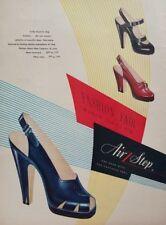 1948 Air Step Womens Shoe Fashions 40s Vintage Wall Art Poster Print Ad