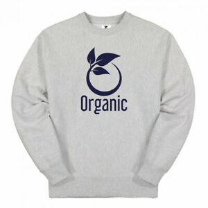 Premium Quality Heather Gray Crew Neck Sweat Shirt Cotton Fleece Men Unisex