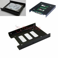 """2.5"""" SSD HDD to 3.5"""" Metal Mounting Adapter Bracket Dock Convert Rack for PC SSD"""
