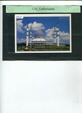 P305 # MALAYSIA USED PICTURE POST CARD * SULTAN SALAHUDDIN MOSQUE IN SHAH ALAM