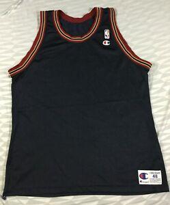 Vintage Denver Nuggets Basketball NBA Champion Blank Jersey Size48