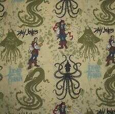 Pirates of the Caribbean Twin Flat Bed Sheet
