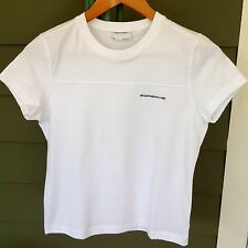 PORSCHE DESIGN DRIVER'S COLLECTION T-Shirt Size M White With Extra Paper Lable