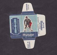 Etiquette de lame de rasoir Suède   BN21230 Matador Toréador
