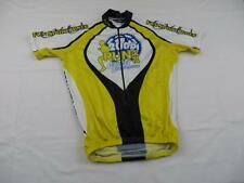 Used Canari Womens White Cancer Awareness Run Ride Bike Cycling Jersey Sz Small