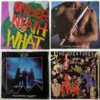 4x New Wave / Alt Rock vinyl joblot. Killing Joke, Creatures, Vega. Goth, 80s