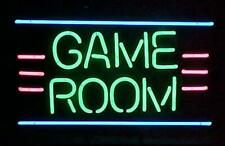 "Game Room Neon Light Sign 32""x24"" Beer Bar Decor Lamp"
