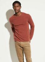 Vince  Crewneck Cashmere Sweater mens XL Sequoia pullover $295 b8 nn