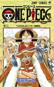 ONE PIECE Comic Book Vol.2 NEW Eiichiro Oda Japanese Jump Manga <FREE Ship>