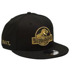 BAIT X Jurassic Park x New Era Damage Control Snapback Cap black gold