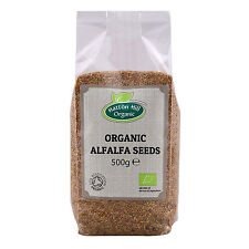 Organic Alfalfa Seeds for Sprouting 500g