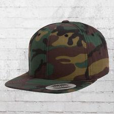 Yupoong Camo Snapback Cap woodland Mütze Kappe Haube Basecap tarn camouflage Hat