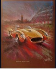 Ferrari 250 Testa Rossa Kunstdruck Original Ferreyra-Basso Nürburgring Mille