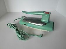 Vintage Turquoise Blue General Electric Kitchen Hand Mixer Retro Mid Century Mod