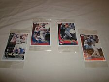 New ! Lot of 8 2002 Post Cereal Topps Baseball Card Packs (4 packs) Jim Thome