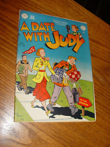 A Date With Judy No 14 DC Comic Book Dec 1949 - Nice