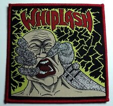 whiplash power and pain  WOVEN  PATCH