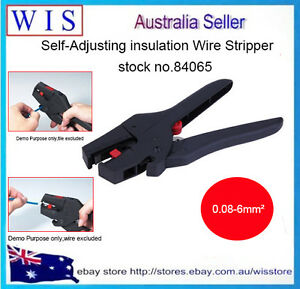 Self-Adjusting Insulation Wire Stripper Automatic Wire Strippers 0.08-6mm2-84065