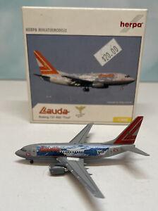 Herpa 1:400 Lauda Air 737-600 OE-LNM Tirol Innsbruck Boeing B737-600