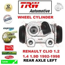 FOR RENAULT CLIO 1.2 1.4 1.9D 1992-1998 1x REAR AXLE LEFT WHEEL BRAKE CYLINDER