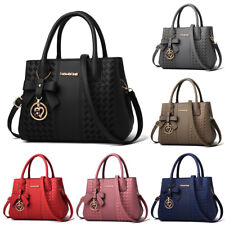 Women Leather Handbag Shoulder Bag Crossbody Tote Hobo Lady Messenger Satchel