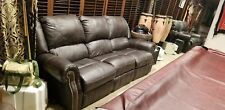 Leather couch, good condition, both sides recline, very comfortable.