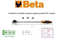 """Cricchetto reversibile 3/4"""" meccanismo a 72 denti Beta articolo 928/55."""