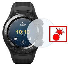 """Slabo Panzerschutzfolie für Huawei Smartwatch 2 (2er Set) KLAR """"Shockproof"""""""