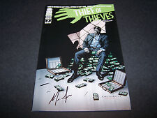 SIGNED NICK SPENCER THIEF OF THIEVES #7 1ST PRINT SOON TO BE AMC TV SERIES