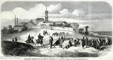 MONTE VALENZA: Quartier Generale della Divisione Bourbaki. Risorgimento. 1859