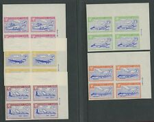 Guernsey SARK 1966 Europa imperf PROOFS unissued blks 4