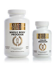Cleanse Purify : Whole Body Program & Colon Program - Pure Body Institute-1 Set