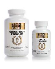 Cleanse Purify : Whole Body Program & Colon Program - Pure Body Institute-1 Set