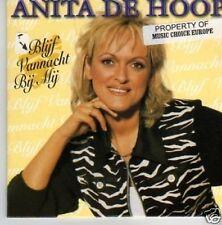 (499P) Anita De Hoop, Blijf Vannacht Bij Mij - 1996 CD